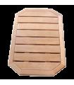 Suelo de madera para Ducha Solar