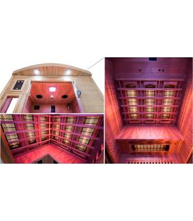 Sauna Apollon Quartz 3 personas
