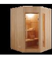 Sauna vapor ZEN angular 3 personas