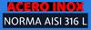 Acero Inox 100%