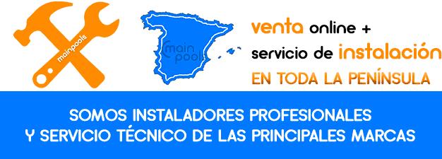 Instaladores y servicio técnico en toda la península